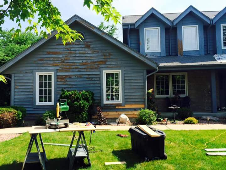 All in One Remodeling » Exterior Cedar Siding